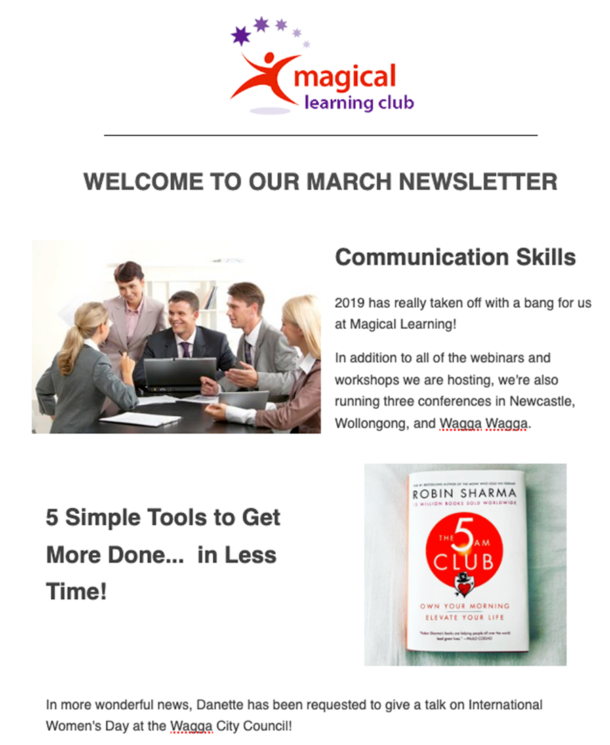 ML Club Newsletter